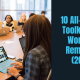 toolkits for remote work