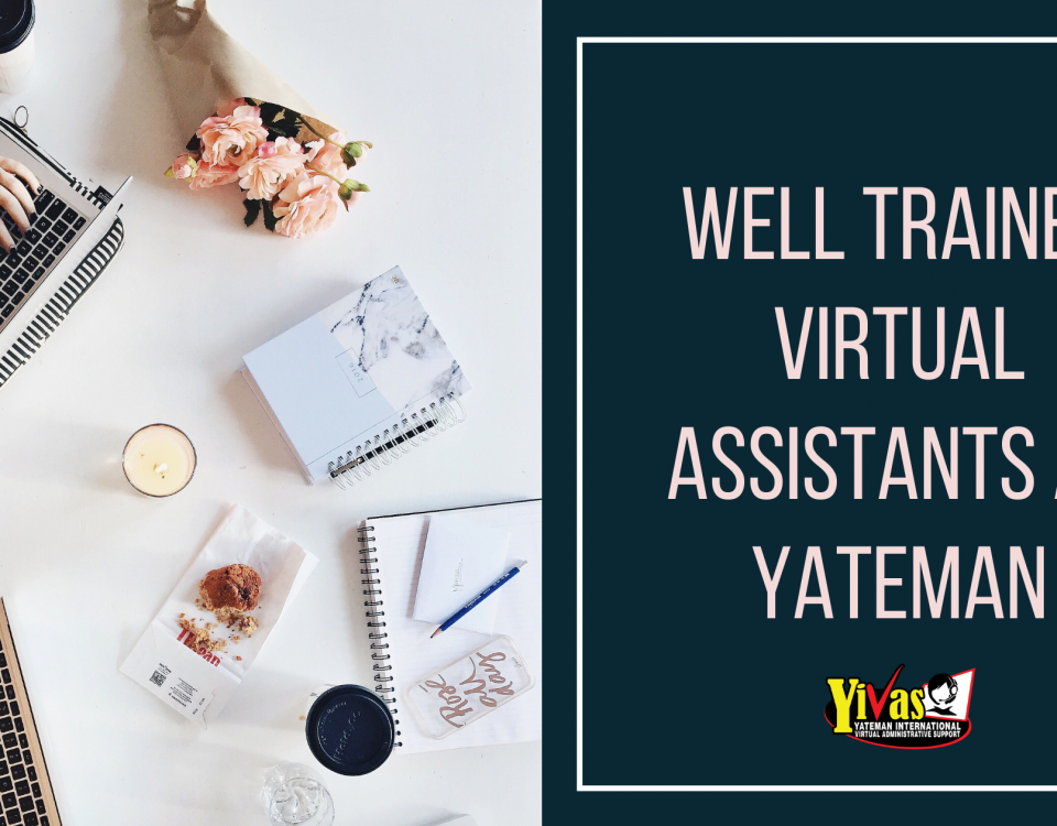 Well Trained Virtual Assistants